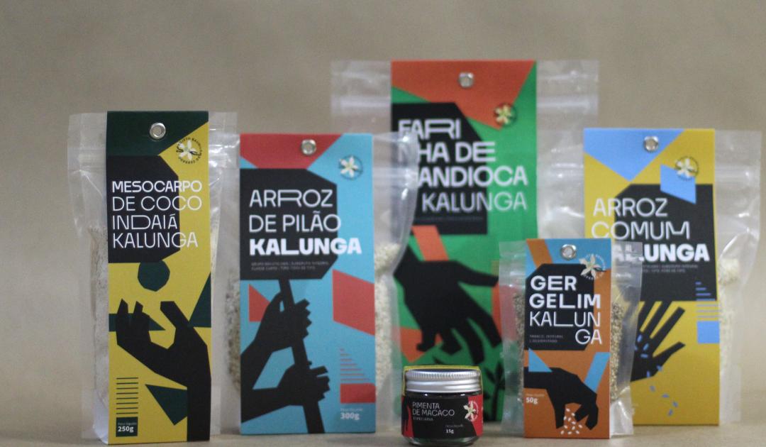 Famílias quilombolas do território Kalunga apresentam alimentos da Sociobiodiversidade do Bioma Cerrado em lançamento de produtos ecossociais